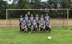 Betriebs-Fußballmannschaft macht 2. Platz